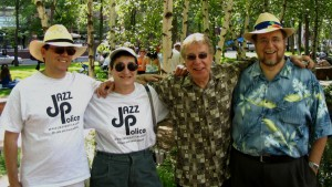 Don and Andrea with Kenny Horst and Larry Englund, Twin Cities Jazz Festival 2005