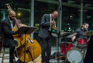Atrium Jazz Quartet at Orchestra Hall (Target Atrium) © Andrea Canter