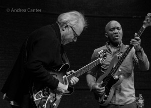 Bill Frisell and Reuben Rogers, © Andrea Canter