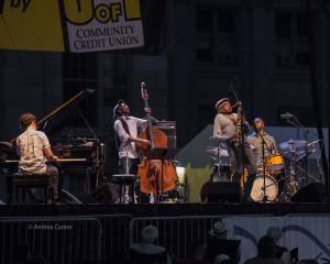 Charles Lloyd Quartet, © Andrea Canter