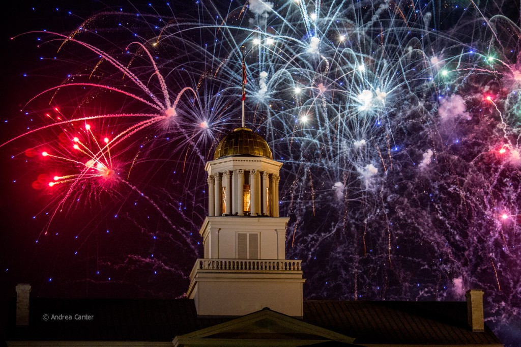 4th of July Fireworks in Iowa City, © Andrea Canter