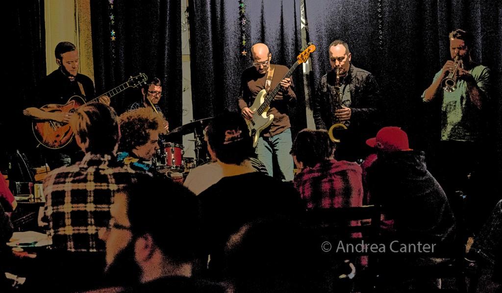Cory Healey's Beautiful Sunshine Band, © Andrea Canter