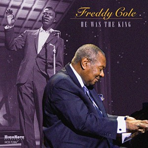 Freddy Cole He Was the King CD Cover