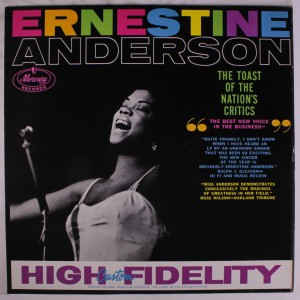 Ernestine Anderson  Toast of the Nation