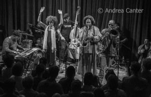 Kamasi Washington band, © Andrea Canter