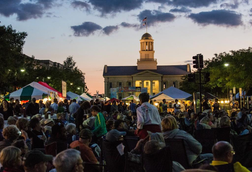 Iowa City Jazz Festival, © Andrea Canter