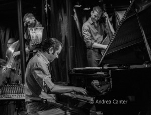 Tanner Taylor Trio played the first Jazz Tuesdays in the Lounge in September 2015, © Andrea Canter