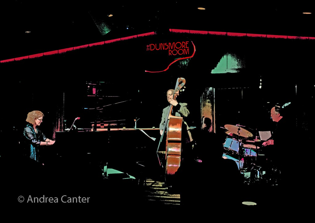 Laura Caviani Trio, Dunsmore Room Soft Opening on December 17, 2015, © Andrea Canter