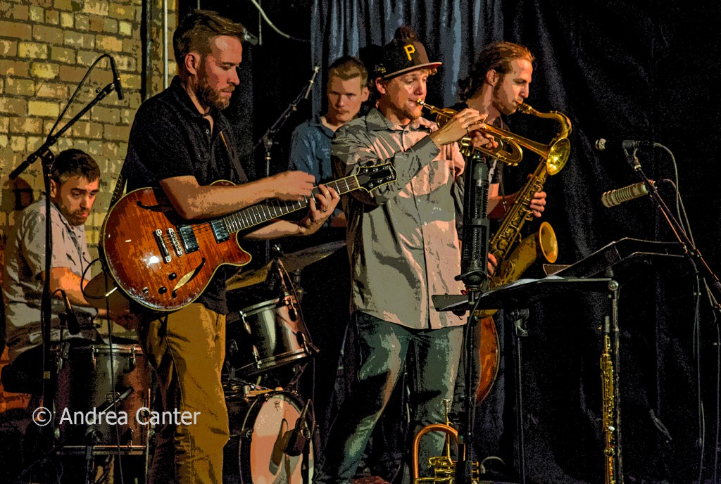 Adam Meckler Quintet at The Nicollet, © Andrea Canter