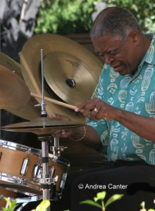 Billy Hart 2006 Healdsburg Jazz Festival, © Andrea Canter