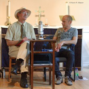 Dialogic Session, Professor Cornett and Tord Gustavson, © Kevin Mason