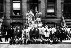 Great Day in Harlem , 1958 by Art Kane