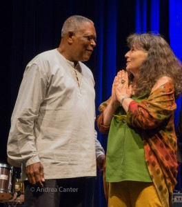 Billy Hart and Jessica Felix, © Andrea Canter