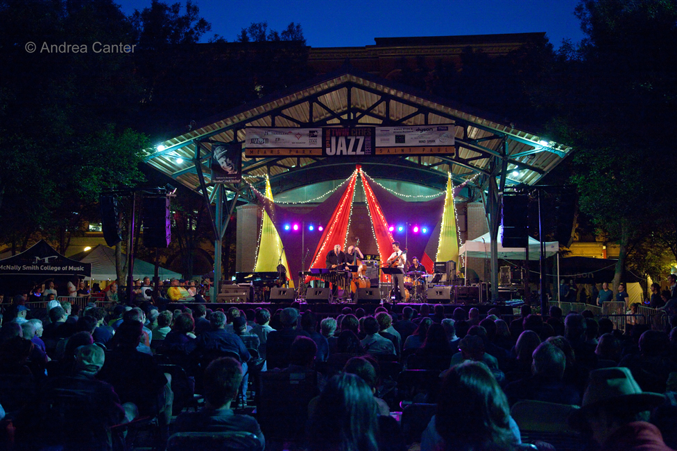 Mears Park, Twin Cities Jazz Festival, © Andrea Canter