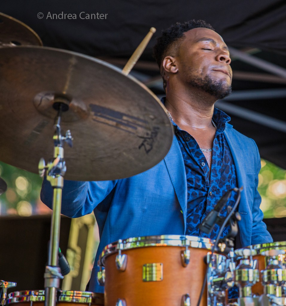 Rodney Ruckus leads his band twice this week and co-hosts a forum on Black Music at Jazz Central