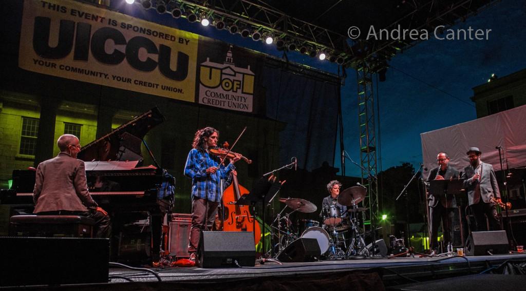 Iowa City Jazz Festival, Alison Miller Boom Tic Boom, © Andrea Canter