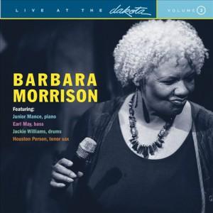 Barbara Morrison Live at Dakota CD Cover