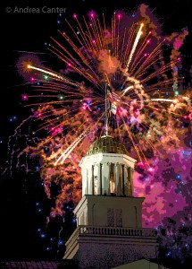 Iowa City FIreworks 2016, © Andrea Canter