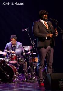 Gregory Porter with Emanual Harrold © Kevin R. Mason