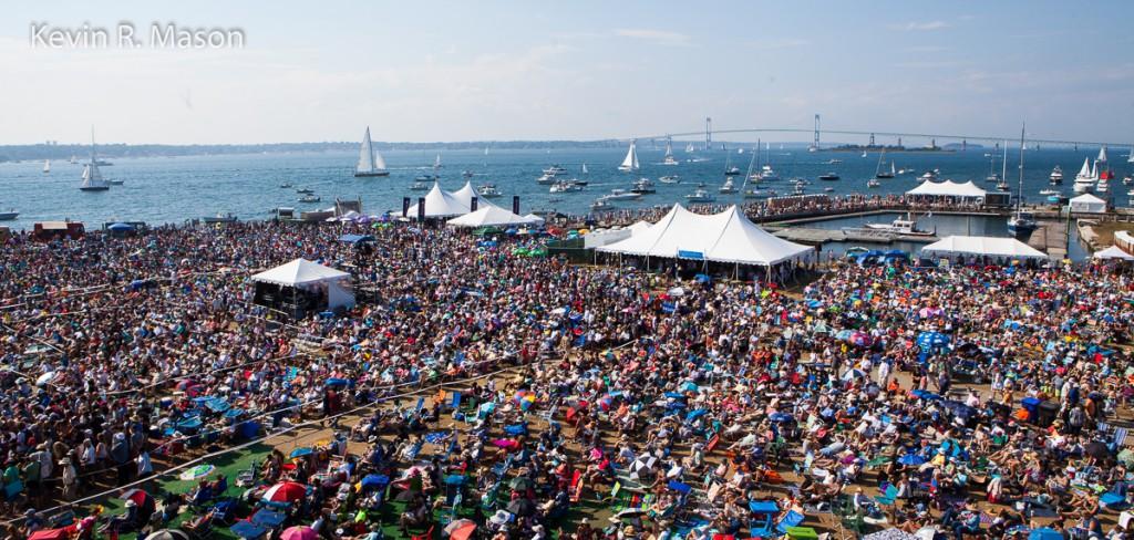 The Newport Jazz Festival © Kevin R. Mason