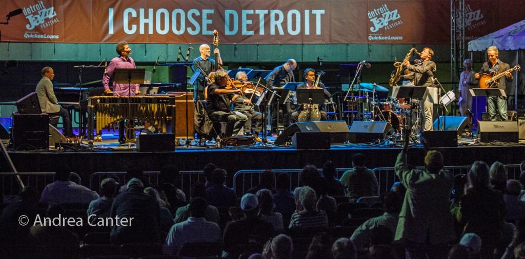 2016 Detroit Jazz Fest, Chris Potter Underground Orchestra, © Andrea Canter