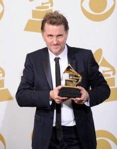Gordon Goodwin with 2012 Grammy for Best Instrumental Arrangement