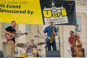 Atlantis Quartet at the 2015 Iowa City Jazz Festival © Andrea Canter