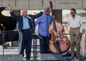 Kirk Lightsey - Louis Hayes Trio © Andrea Canter