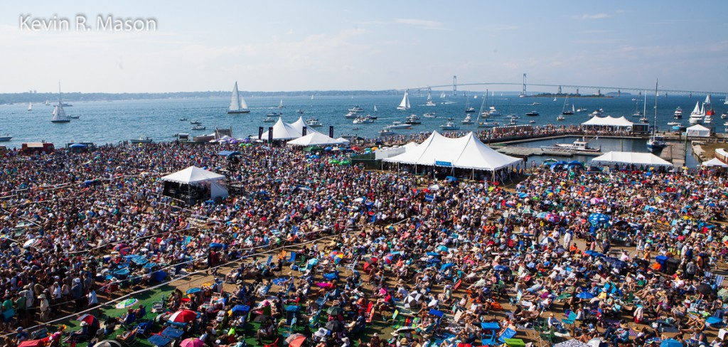The Newport Jazz Festival © Kevin R. Mason