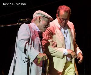 George Wein and John Hailer © Kevin R. Mason