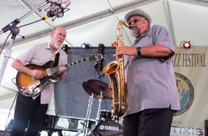 John Scofield and Joe Lovano © Kevin R. Mason