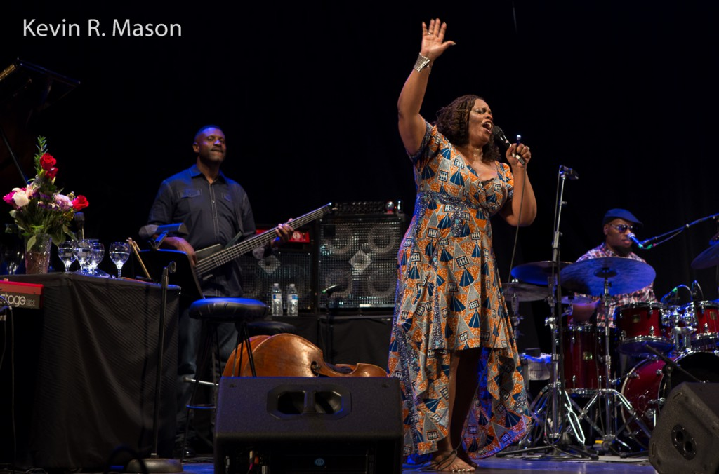 Dianne Reeves at SummerStage, © Kevin R. Mason