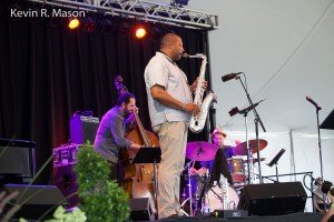 Richie Barshay Trio with Jimmy Greene © Kevin R. Mason