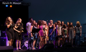 Nicole Zuraitis Quintet with Dave Stryker and Students, © Kevin R. Mason