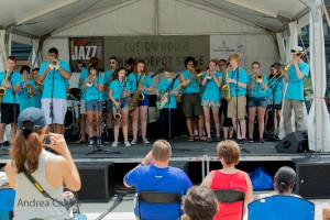 JAM summer band performs at the 2016 Twin Cities Jazz Festival, © Andrea Canter
