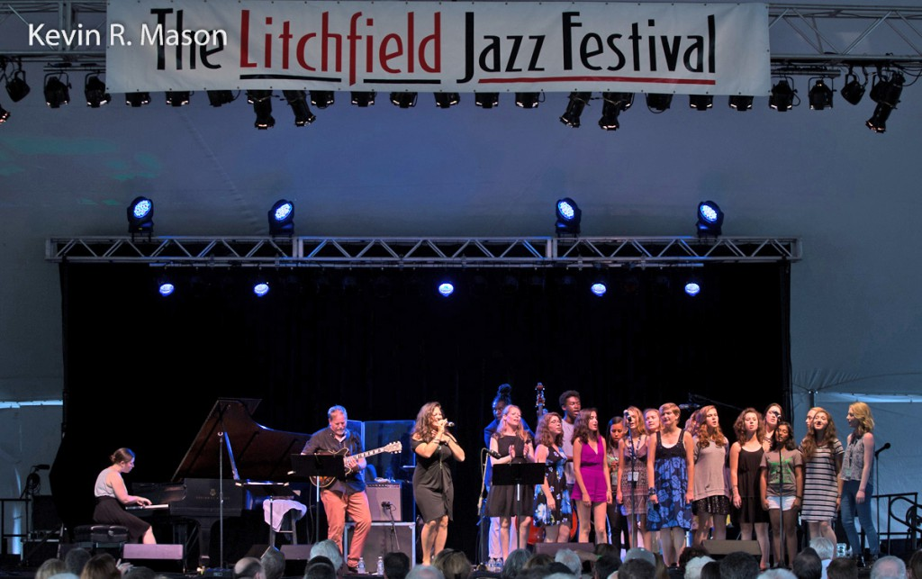 Litchfield Jazz Festival: Nicole Zuraitis Quintet with Dave Stryker and Students  © Kevin R. Mason