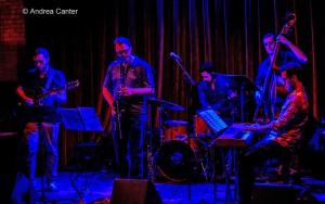 Aaron Hedenstrom Quintet © Andrea Canter