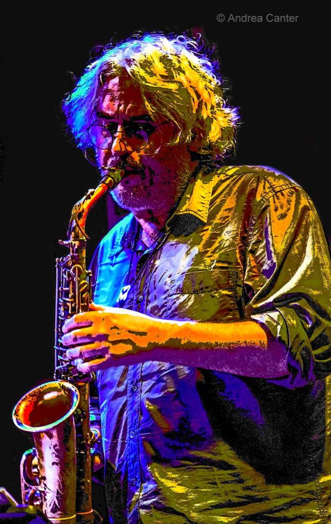 Tim Berne, at the Icehouse with NOH on Monday, October 31 (photo © Andrea Canter)