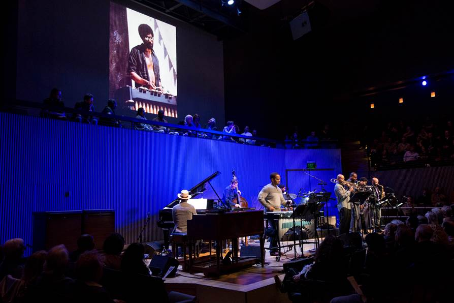 SFJAZZ Bobby Hutcherson Memorial Concert on October 23 (photo © Scott Chernis)