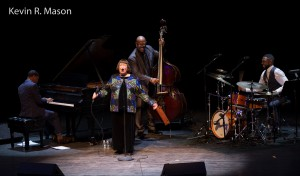 Sheila Jordan with the Christian McBride Trio © Kevin R. mason