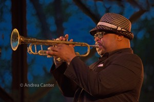 Nicholas Payton at 2015 TC Jazz Fest © Andrea Canter