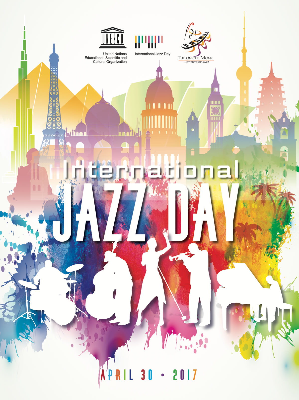 International jazz day celebrated on april 30 with live for International decor 2017